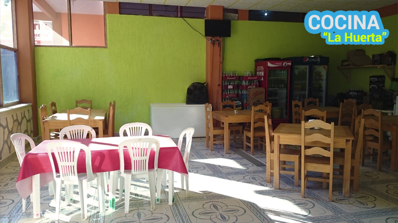 Restaurante grutas tolantongo for Cocina economica